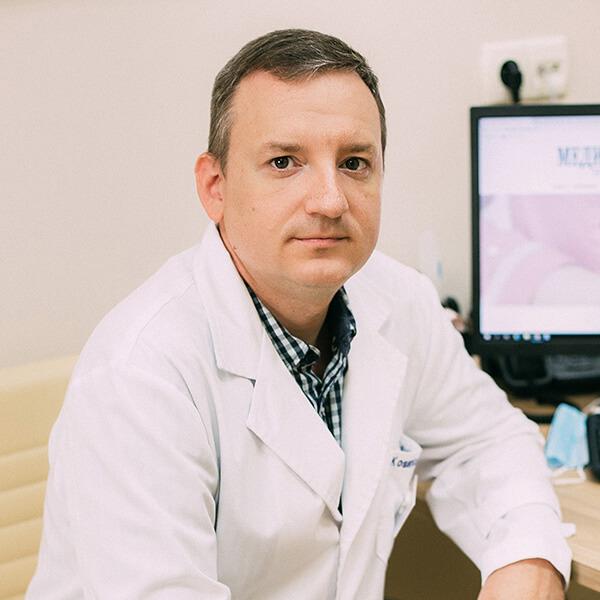Хирург, колопроктолог, флеболог, пластический хирург Косенко Павел Михайлович